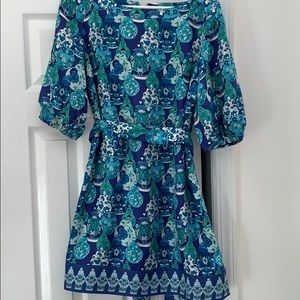 Lilly Pulitzer RARE Ginger Jar Sandpiper Dress 4